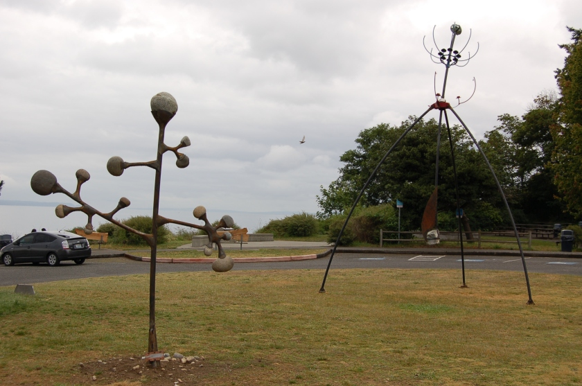 Carkeek Park outdoor art exhibit
