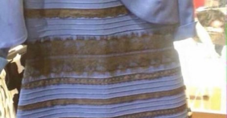 is the dress white and gold or black and blue